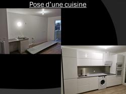 Pose d'une cuisine à Trappes