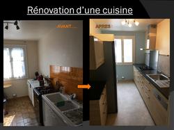 Rénovation d'une cuisine à Plaisir