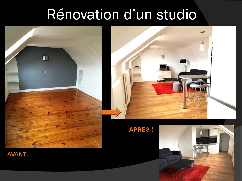 rénovation studio Saint-Germain