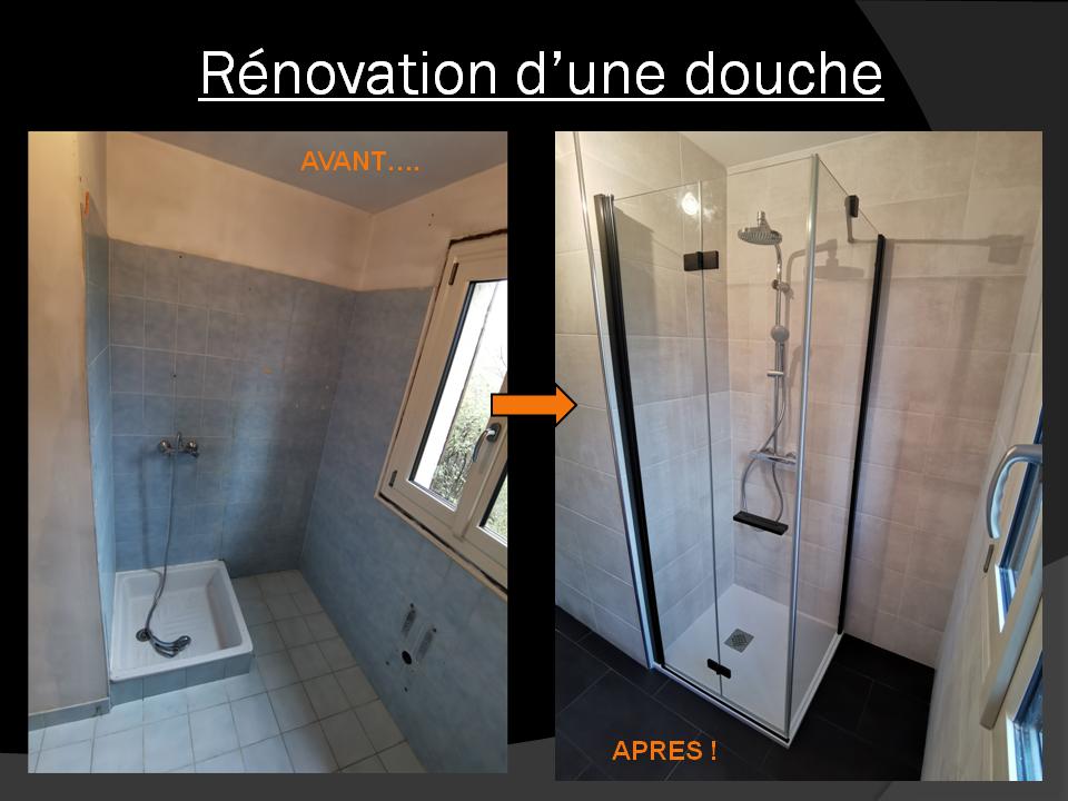 renovation salle de douche à Beynes