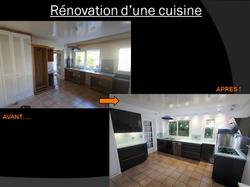 Rénovation d'une cuisine à Maurepas