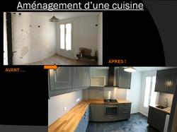 avant apres rénovation cuisine