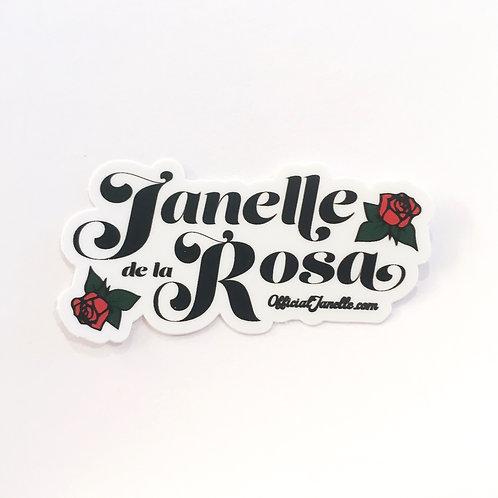 Janelle de la Rosa Sticker