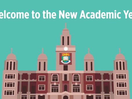 Welcome to the New Academic Year!