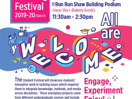 Cancellation of Student Learning Festival 2019-20 Sem 1