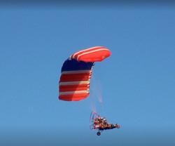 Powered parachutes.