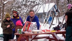Wnter picnic.