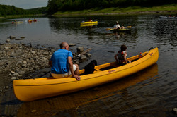 Headed down the Aroostook to the cam
