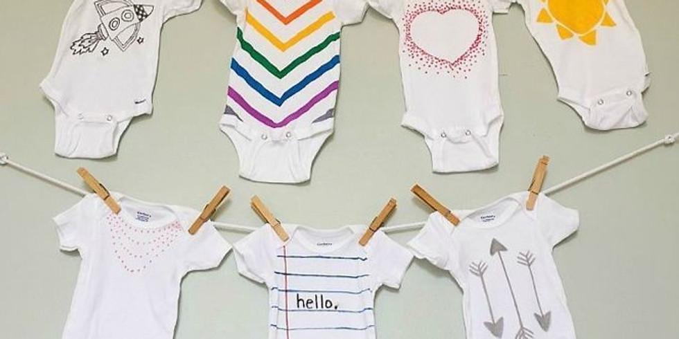 Creatief Baby Shower Arrangement: workshop + high tea * € 45,00 p.p.