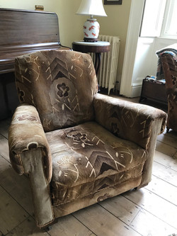 2  very old chairs