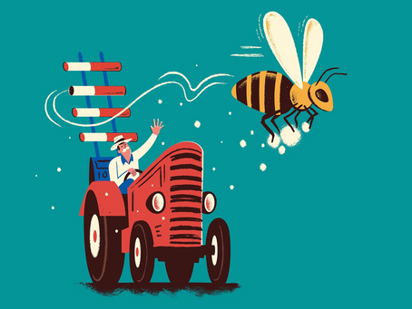 Artificial pollination impact on global food security
