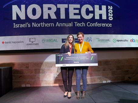 Winner of Nortech 2020 startups contest