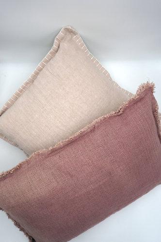 Kissen-Set rosa/altrosa