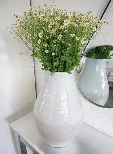 Keramikvase groß grau, Vase groß grau, Vase minimalistisch, Vase skandinavisch, große vase hellgrau
