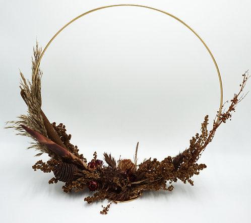 Dried Flower Hoop, stehend, 40 cm
