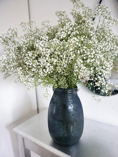 blaue vase groß, vase minimalistisch, große vase blau grau, blaue vase groß, ausgefallene vase, blumenvase blau