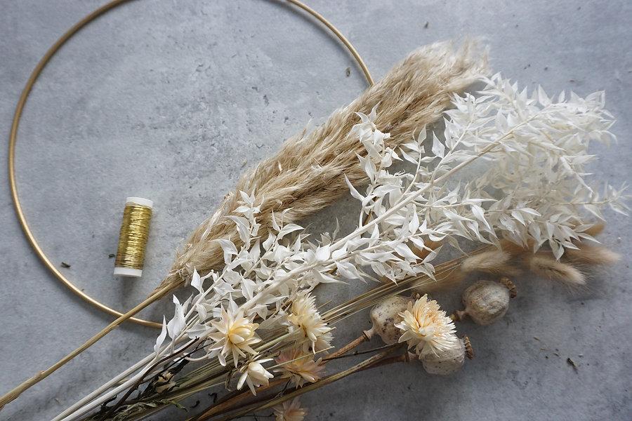 floral hoop diy kit