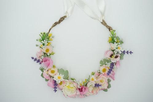 "Blumenhaarkranz aus Seidenblumen ""A flowery meadow"""