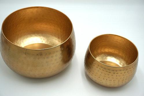 2er Set Töpfe old gold