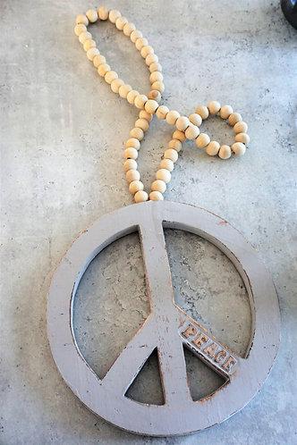 Shabby Chic, vintage, peace, wanddeko, hippie deko, boho deko, rustikale deko, friedenszeichen wanddeko, peace wanddeko