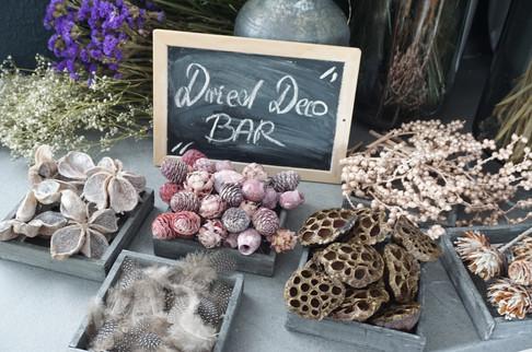 Dried deco bar