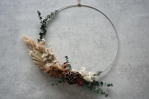 Dried Flower Hoop, 40 cm