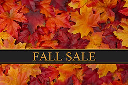 Fall Sale Message, Fall Leaves Background and text Fall Sale.jpg