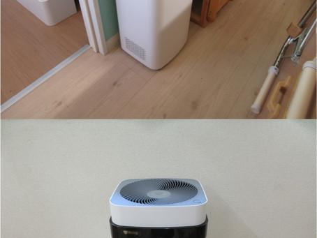 【コロナ対策】最新型の空気清浄機を導入しました。