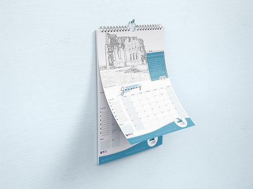 2021 North Tyneside Wellbeing Calendar