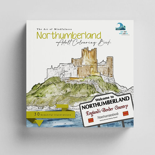 Northumberland Mindfulness Colouring Book