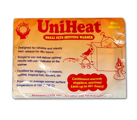 Heat packs - For shipping
