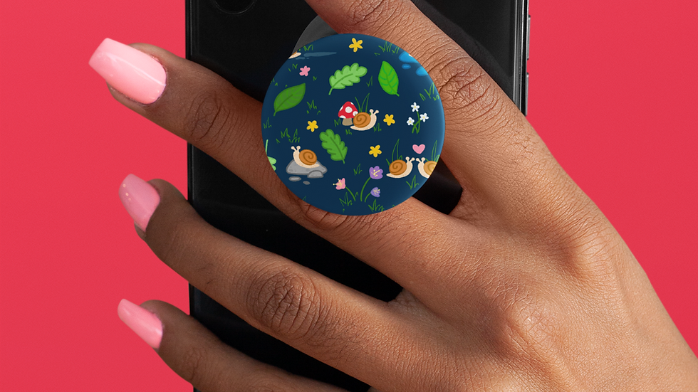 Snail POP socket