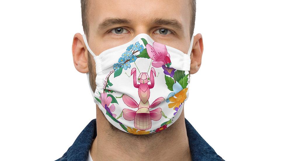Orchid Mantis Face Mask