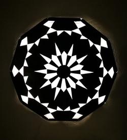 Lamp Shadow of Mandala