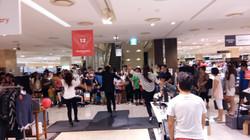 현대백화점 탭댄스공연.