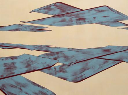 Large blue planes