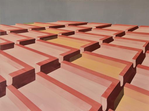 Pink Z landscape