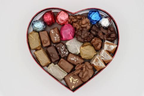 Heart Shaped Chocolate Assortment