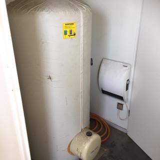 Boiler für Container