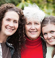 女性の三つの世代