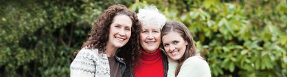 Tres generaciones de mujeres