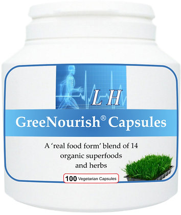 GreeNourish Capsules - organic superfood