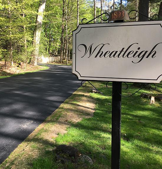 Wheatleigh Asphalt Drive