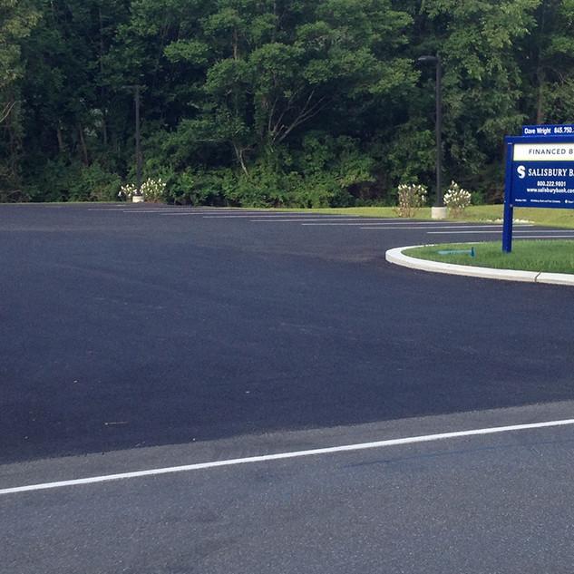 Salisbury Bank Paved Parking Lot