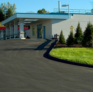 Sharon Hospital Paved Entranceway