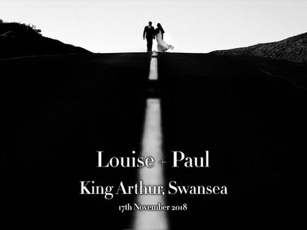 LOUISE + PAUL @ KING ARTHUR, SWANSEA
