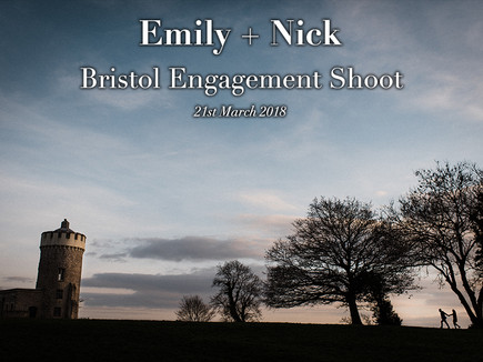 EMILY + NICK ENGAGEMENT SHOOT IN BRISTOL