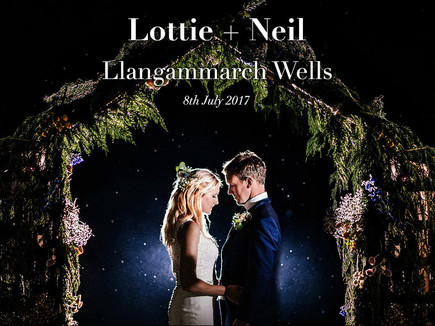 LOTTIE + NEIL @ WELSH MARQUEE WEDDING