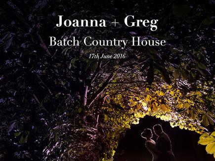 JO + GREG @ BATCH COUNTRY HOUSE