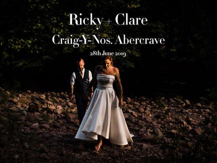 RICKY & CLARE @ CRAIG-Y-NOS
